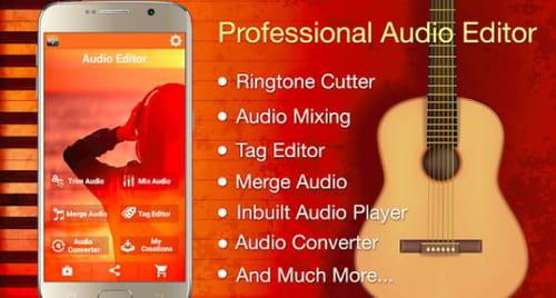Audio Mp3 Cutter Mix Converter Ringtone Maker Android