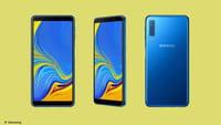 Samsung का ट्रिपल रियर कैमरा फ़ोन भारत में